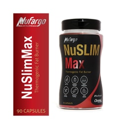 NuSlimMax 5-in-1 Weight Loss Pills for Women & Men | Thermogenic Fat Burning Slim Metabolism Booster 90 Capsules