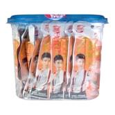 TENGXIN FOODS Srab Sticker Super Spicy Flavor 30packs 600g