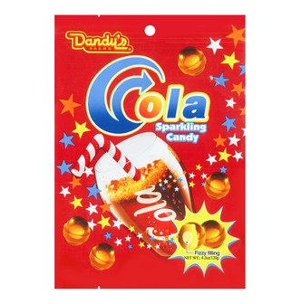 DANDY Cola Sparkling Candy 120g