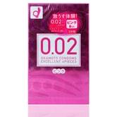 OKAMOTO 0.02 EX Condoms #Pink 6pcs