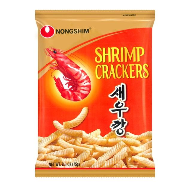 商品详情 - 韩国NONGSHIM农心 香脆美味虾条 经典原味 75g - image  0