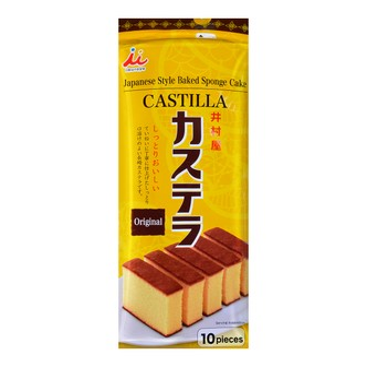 日本井村屋 CASTILLA卡思甜乐蛋糕 原味 10枚入