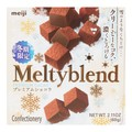 日本MEIJI明治 MELTYBLEND 雪吻特浓牛奶松露夹心巧克力 60g