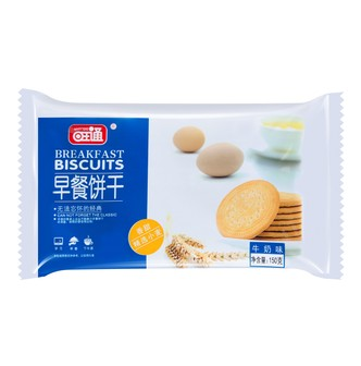 WONGTUNG Breakfast Biscuit Milk Flavor 150g