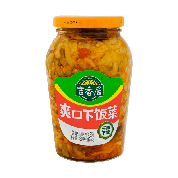 Product Detail - JI XIANG JU Appetizing Pickles 426g - image 0