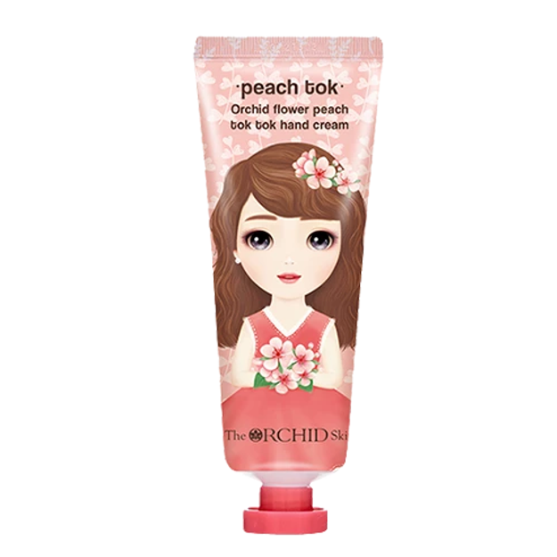 Product Detail - THE ORCHID SKIN  Peach Tok Tok Hand Cream  1pc - image 0