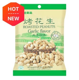 QIAQIA Roasted Peanut -Garlic Flavor 300g