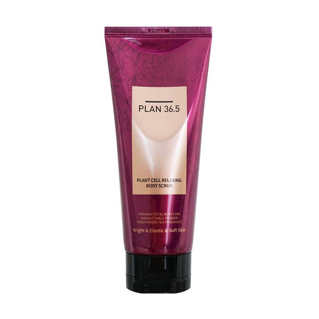 Product Detail - PLAN36.5 Plant Cell Relaxing Body Scrub 200g - image 0