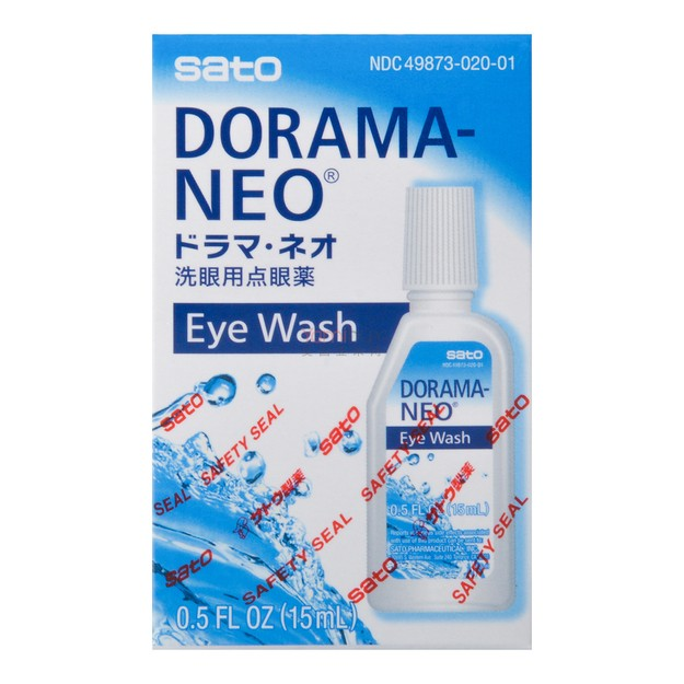 Product Detail - SATO DORAMA-NEO Eyewash 15ml - image 0