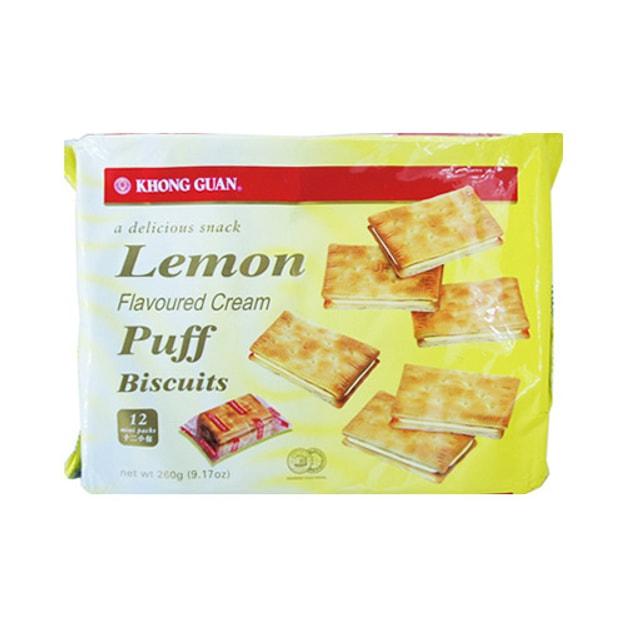 商品详情 - 新加坡KHONG GUAN康元 柠檬奶油卜夹心饼干 12袋入 - image  0