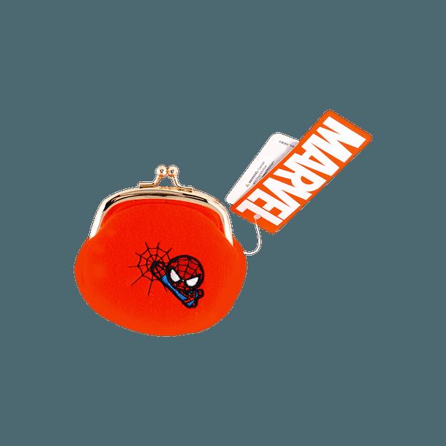 商品详情 - 名创优品Miniso 漫威夹扣零钱包,蜘蛛侠 - image  0