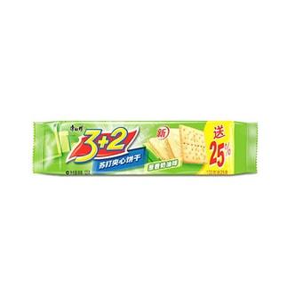 康师傅 3+2苏打夹心饼干 葱香奶油味 125g