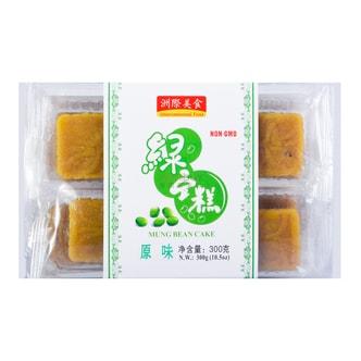 洲际美食 绿豆糕 原味 300g