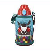 【日本直邮】日本 TIGER 虎牌儿童保温杯/直饮双盖 MBR-A06G A 小鼹鼠 便携学生水杯(直饮盖+保温盖) 600ml