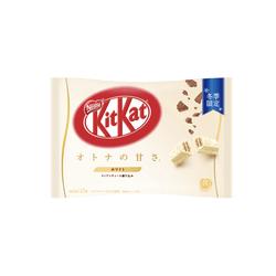 DHL直发【日本直邮】日本名菓 KIT KAT限定系列 香脆可丽饼口味巧克力威化 12枚装