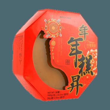 台湾梅花乡 年年糕升 年糕 原味 980g