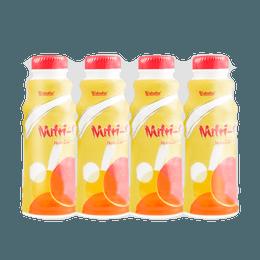 Fruit Flavored Milk Beverage Pineapple Flavor 4packs