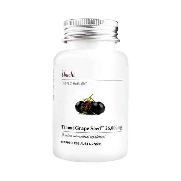 Product Detail - UNICHI Tannat Grape Seed 26000mg 60 Capsules - image 0