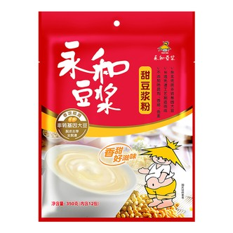 永和豆浆 甜豆浆粉 非转基因大豆 350g 12包入