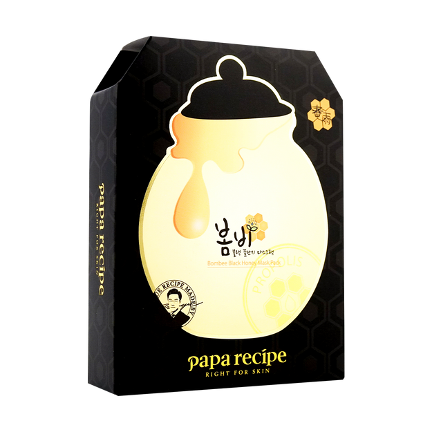 Product Detail - PAPA RECIPE Bombee Black Honey Mask 10sheets - image 0