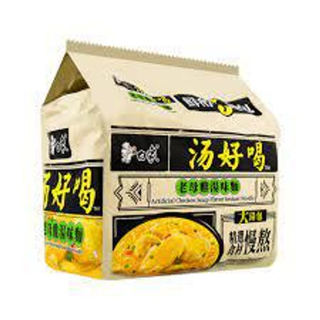 商品详情 - 白象 老母鸡汤味面 5连包 111克 - image  0