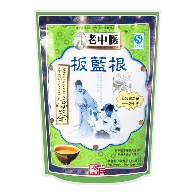 商品详情 - 老中医 板蓝根凉茶 15包入 150g - image  0