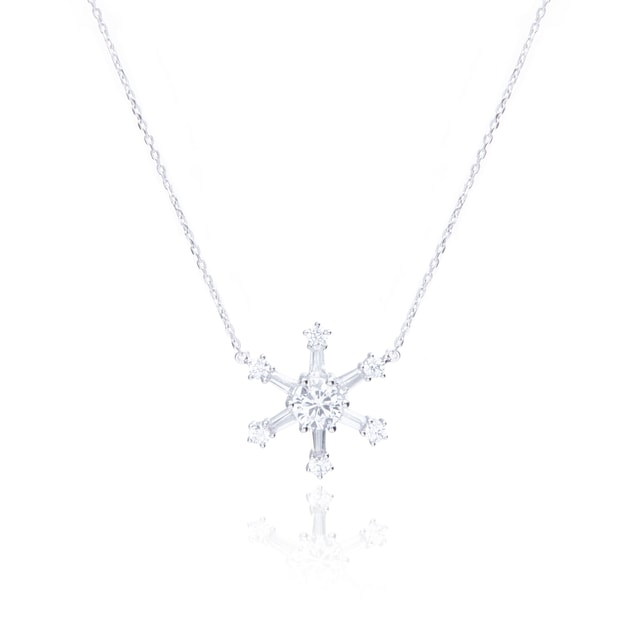 Product Detail - ARSIS necklace with snowflake 1 piece - image 0