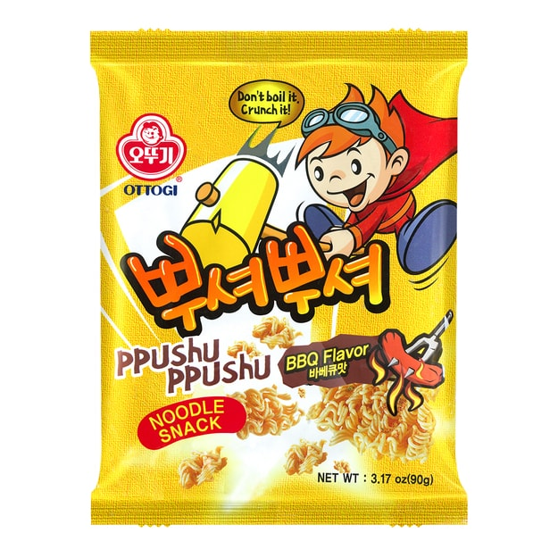 Product Detail - OTTOGI Noodle Snack BBQ Flavor 90g - image 0