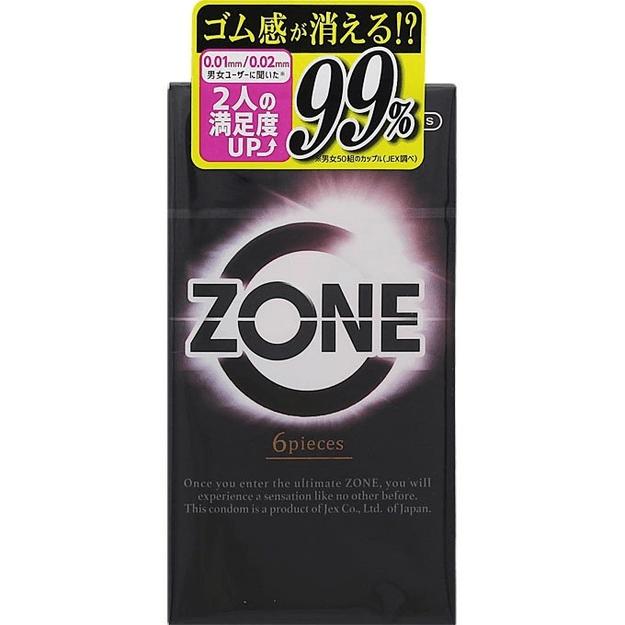 商品详情 - 日本 JEX ZONE 乳胶安全套 6pcs - image  0