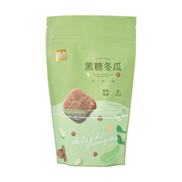 台湾糖鼎  黑糖冬瓜黑糖砖 7包入 210g