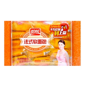 French Soft Bread #Orange 15pcs 300g