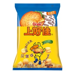 OISHI Corn Flavor Cracker-Ball 40g