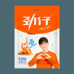 华文食品 劲仔小鱼 酱汁味 110g 湖南特产