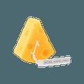 可爱INS风 拍照必备 立体奶酪蜡烛