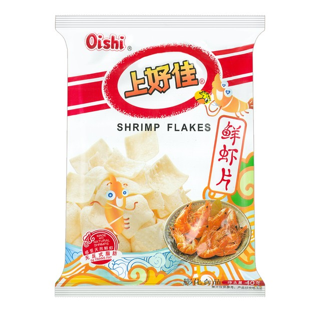 商品详情 - OISHI上好佳 鲜虾片 40g - image  0
