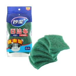 Miaojie Scouring Pad (6 Pcs)