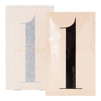 日本LULULUN ONE 极致美肌保湿弹力滋润面膜 5片入