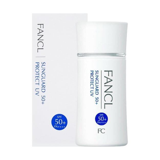 商品详情 - 【日本直邮】日本FANCL 无添加 倍护防晒隔离 敏感肌可用 物理防晒霜 SPF50+ PA++++ 60ml - image  0