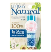 MENTHOLATUM Lip Baby Natural Fragrance Free 4g