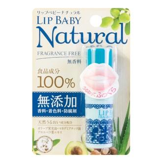 MENTHOLATUM Lip Baby Natural Fragrance Free 4g