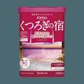 日本BATHCLIN巴斯克林 温泉舒緩泡澡入浴剂 粉罐花香 600g 大罐超值装