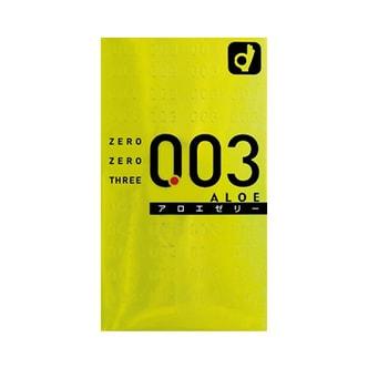 日本OKAMOTO冈本 003系列 芦荟精华超薄安全避孕套 10个入