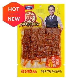 贤哥 铁板串串香豆干 调味豆腐干 80g 李好代言