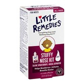美国Little remedies新生婴儿幼生理盐水滴鼻剂喷雾通鼻塞洗鼻腔美国L30ml
