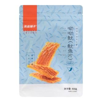 良品铺子 呦呦鱿 鱿鱼片 香辣味 93g