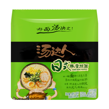 Soup Daren Pork Bone Flavored Noodle 5pc 625g