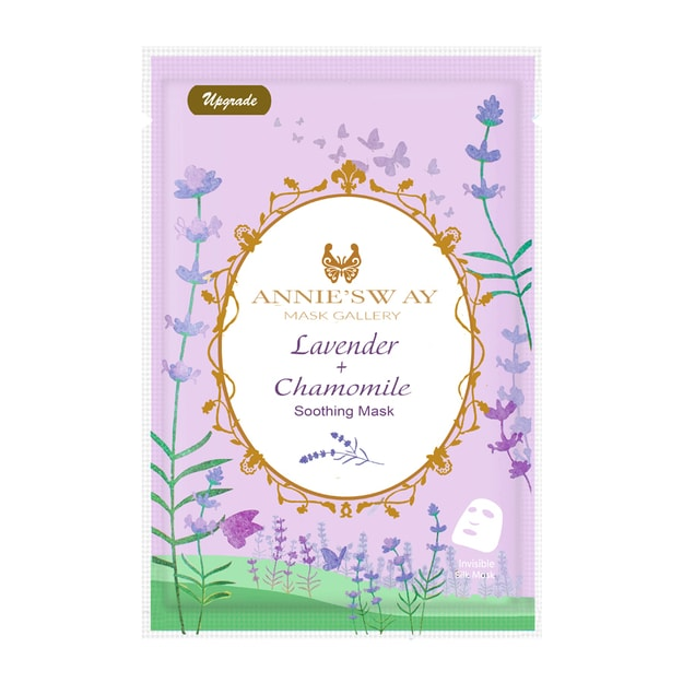 Product Detail - ANNIE\'S WAY Lavender + Chamomile Soothing Mask 1Sheet - image 0
