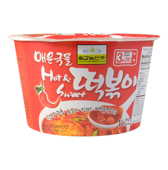 CHILKAB Spicy Rice Cake Bowl with Hot Sauce 292g
