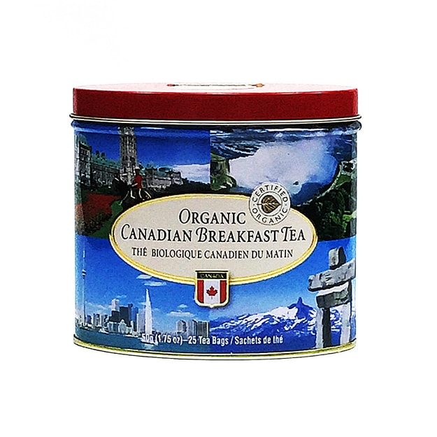 CANADA TRUE Organic Canadian Breakfast Tea   25 Tea Bags 50g