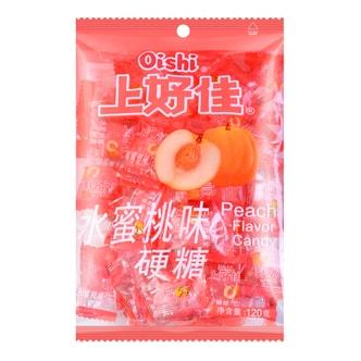 OISHI Peach Flavor Candy 120g
